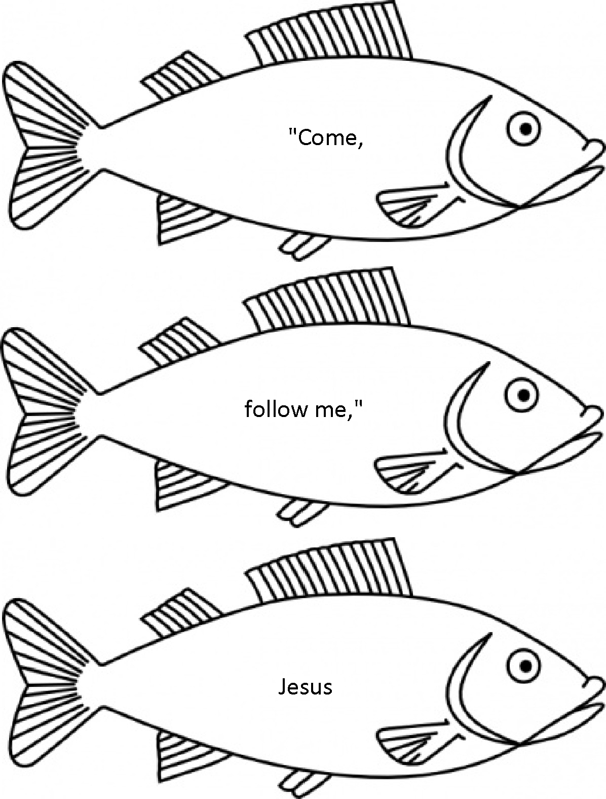 Fisher's of Men Coloring Pages http://imagixs.com/fishers-of-men-coloring-pages/