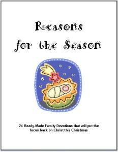 reasons for the season cover