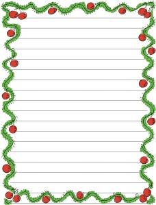 copywork Christmas blank