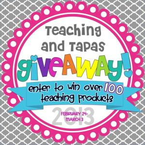 Teaching and Tapas Giveaway