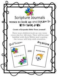 My Scripture Journal cover