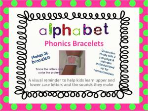 alphabet bracelet cover