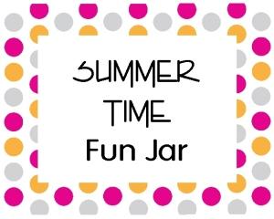 Summer Time Fun Jar label