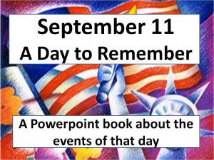 Sept 11 Powerpoint book cover