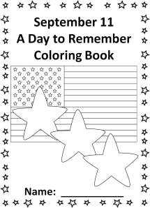 sept 11 coloring book cover