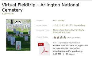 virtual fieldtrip arlington