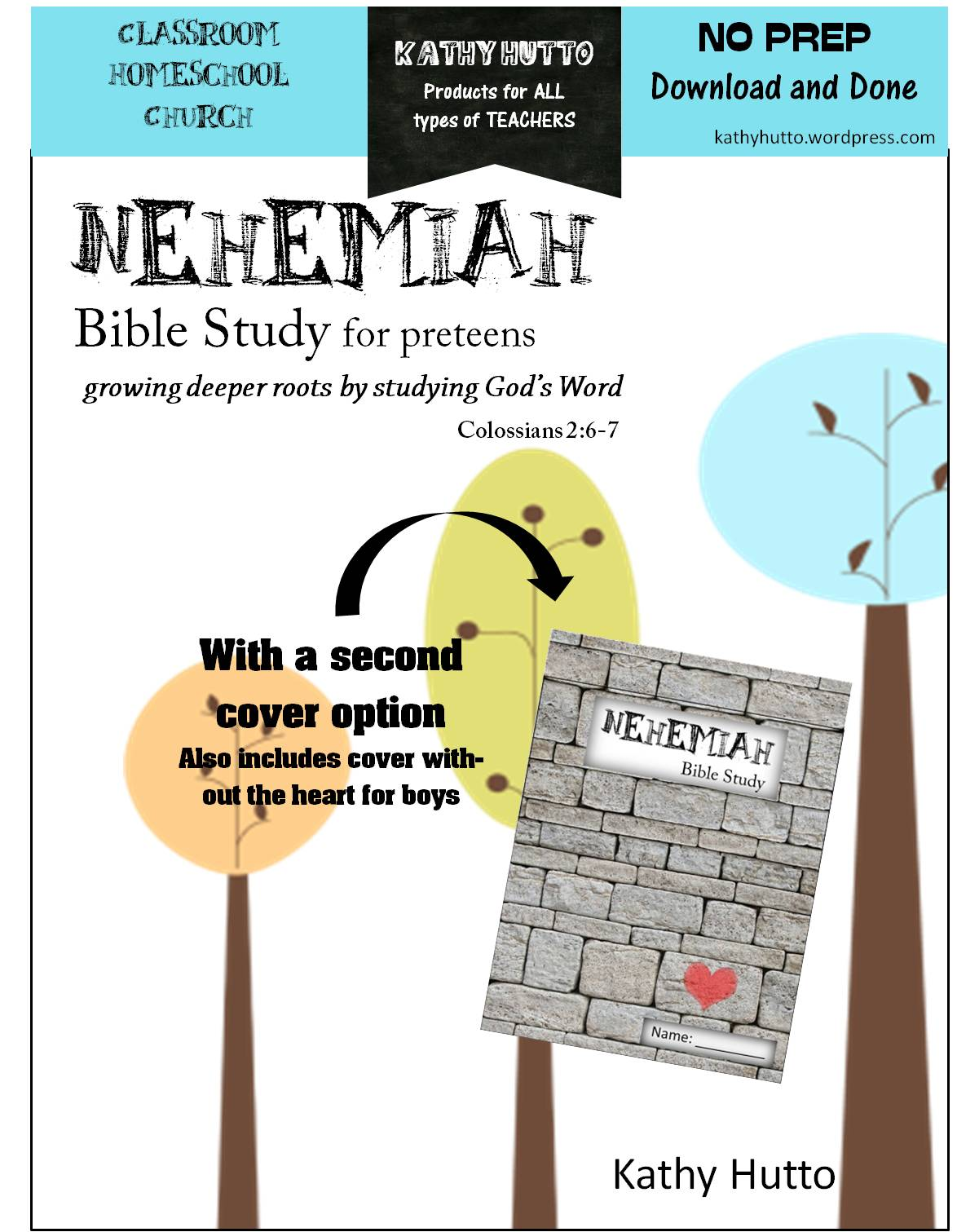 Brand New Bible Study For Preteens Nehemiah Kathy Hutto