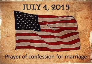 flag marriage prayer