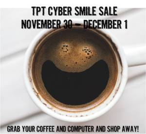 TpT Cyber Smile sale