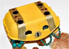 treasure box egg carton