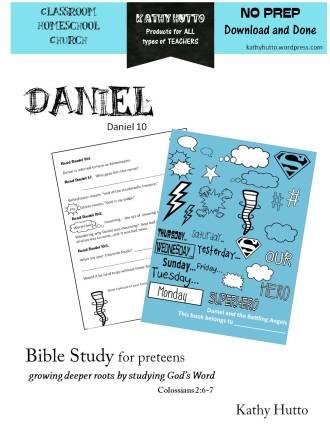 Daniel 10 cover