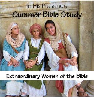 summer women of the Bible study graphic